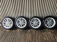 "Genuine 17"" BMW 2 Series Alloy Wheels - 5x120- will fit Vivaro, Traffic, Primstar, F30"