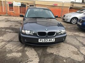 BMW 3 SERIES 2.0 318i SE 4dr FULL SERVICE HISTORY.
