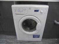 Indesit WIXXE127 7kg 1200 Spin White Freestanding Washing Machine.