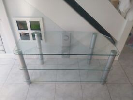 Glass tv stand- FREE