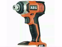 AEG Impact Drill Brand New 1.8v Cordless Bare Unit