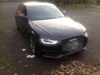 Audi A4 s line black edition damaged cat d