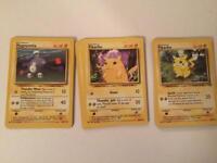 Pokemon cards - wizards 1999