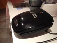 George Foreman grill in black