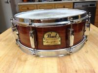 Pearl Omar Hakim Signature Snare Drum 13 x 5 WITH HARDCASE