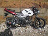 Honda CBF 125cc Motorbike Streetfighter