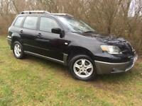 AUTOMATIC 4x4 - MITSUBISHI OUTLANDER - ONLY 77K MILES - SERVICE HISTORY