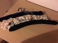 Three Decorative Coat Hangers