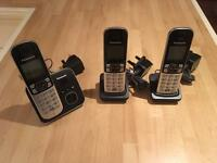 Panasonic Trio Telephone