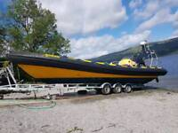 Riibcraft rib xtreme commercial 10m 2 x 250 4 strokes diving boat buisness