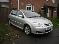 TOYOTA COROLLA 1.6 PETROL EXCELLENT CONDITION ** 3 LADY OWNERS