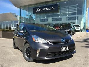 2014 Toyota Prius v Three Pkg Back Up Cam