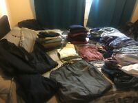 Men's clothes - bulk, over 40 items sizes XL (some large)