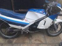 Suzuki rg125 gamma. 1986