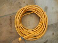 Hozelock garden hose 55feet long. With connectors for spray gun and garden tap. Great condition