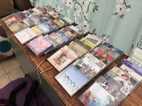 A range of 56 music CDs job lot