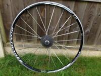 Bontrager 700 rear wheel