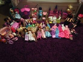 Barbies and punk rock dolls