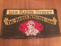 221b Baker Street - The Master Detective Game - Complete