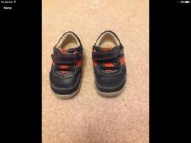 Clarks boys first shoes size UK 3.5G