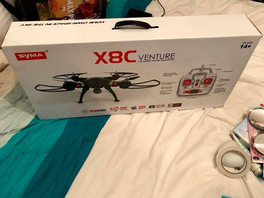 BRAND NEW Drone / Quadcopter Syma x8C 2.4ghz with HD CAMCORDER