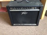 PEAVEY STUDIO AMP PRO 112 HAS HIGH GAIN LOW GAIN,4 INPUTS IN CLEAN CONDITION £125 ONO