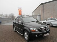 2007 KIA Sorento 2.5 CRDi XT 5dr /1 Owner From New / Diesel