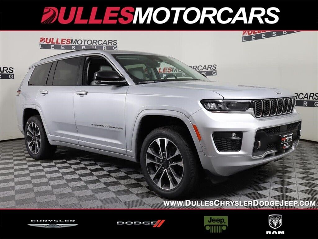 2021 Jeep Grand Cherokee L Overland Silver Zynith