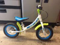 "Carrera Coast Balance Childrens Kids Bike Bicycle - 12"" Wheels / Alloy Frame"