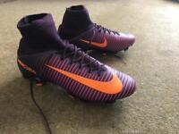 Nike Mercurial Superfly - Purple/Orange - Size 6