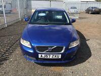 Blue volvo turbo diesel