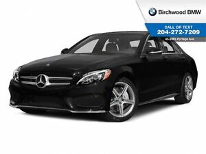 2015 Mercedes-Benz C-Class C300 4Matic Navigation! Local Car! 1