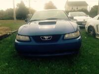 2001 mustang project car for sale 1200 obo or trade for 4x4