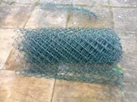 chainlink fence 7 by 1 metres used