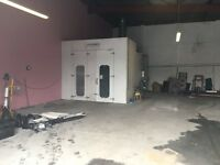 Car COLOURBOX spray paint booth oven for sale good working order body shop