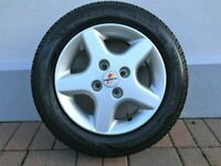"x4 Fondmetal 14"" Wheels / Alloy Rims and Tyres"
