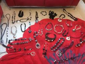 30 necklaces 9 bracelets £10 per item Ono