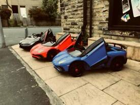 Large Selection Of Kids-Ride-On Cars In Store From £100 Parental Control Or Self Drive 12v & 24v