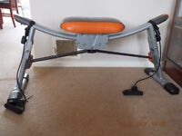 AB Dance Exercise Machine-Folds Up For Easy Storage- In Very Good Condition