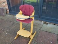 bebe Confort Woodline Child's High Chair