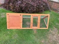Guinea Pig Run & Shelter Brand New