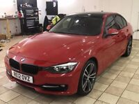 !!IMOLA RED!! 2012 BMW 32OD SPORT STEP PLUS / MSPORT 19INCH ALLOYS / SAT NAV / FULL LEATHER / AUTO