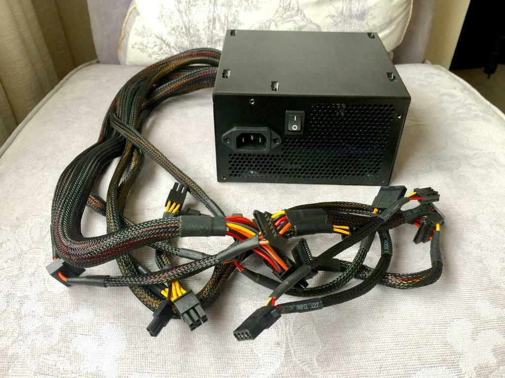 Cooler Master 500W Power Supply (model: MPW-5002 ACABW)   in Sketty,  Swansea   Gumtree