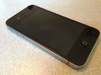 IPHONE 4S 8GB MOBILE PHONE in BLACK ** BOXED**VODAFONE