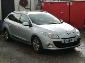 Renault Megane Estate. 10 months MOT. £20 a year Road Tax