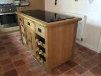 Cotswold solid Wood kitchen island