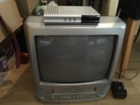 Bush video combo t.v. With free view box