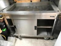 Cool salad station cabinet trolley