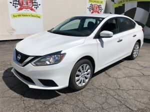 2016 Nissan Sentra S, Automatic Steering Wheel Controls,