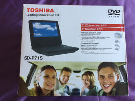 Toshiba SD-P71s portable DVD player